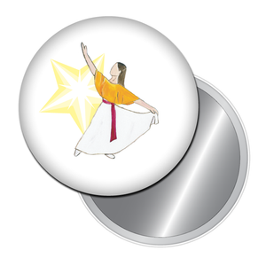 Liturgical Dancer #2 Button/Magnet/Mirror