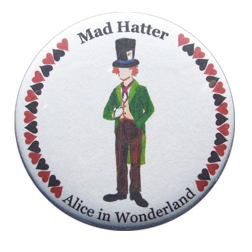Mad Hatter Button / Magnet - Ballet Gift Shop