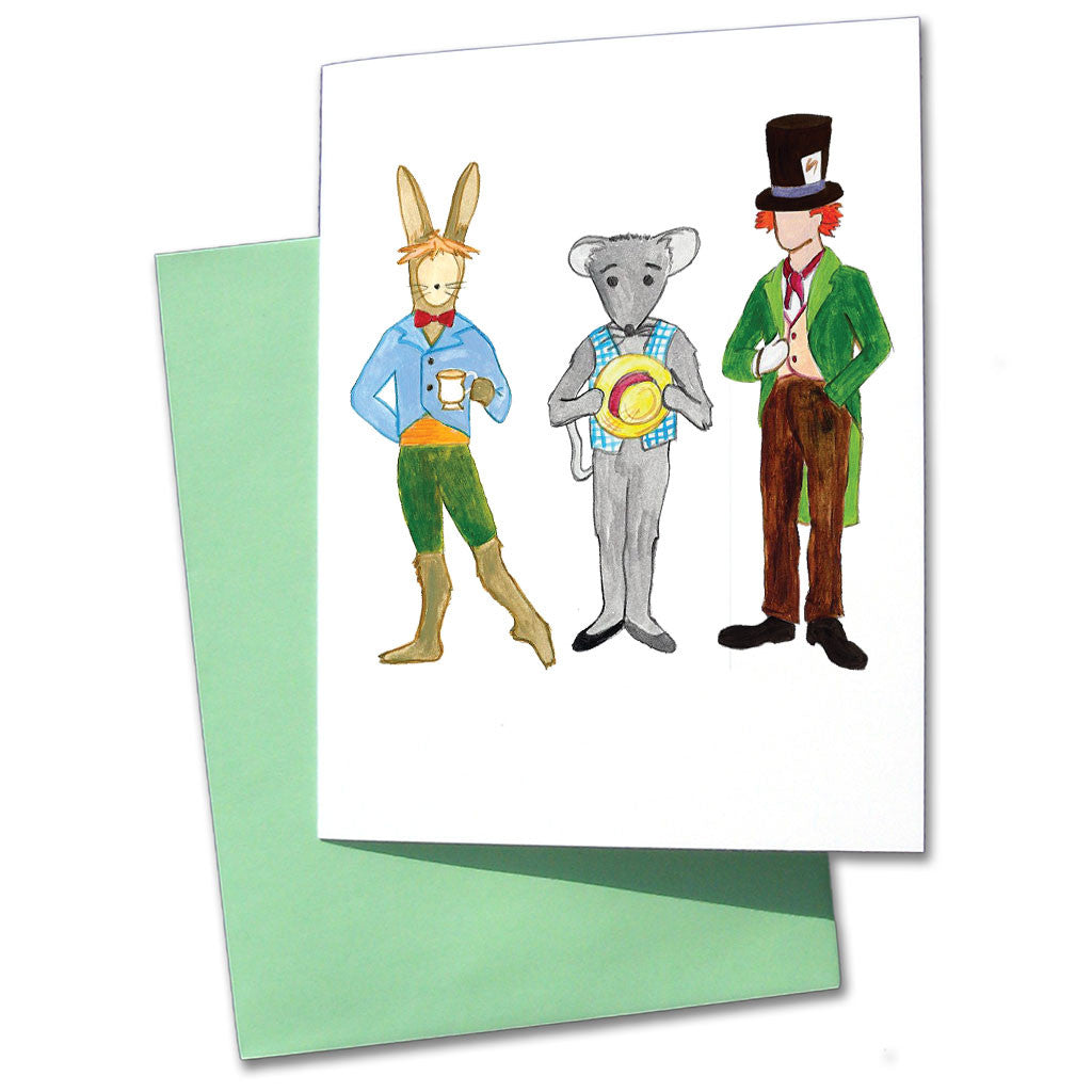 Mad Tea Party Note Cards - Ballet Gift Shop