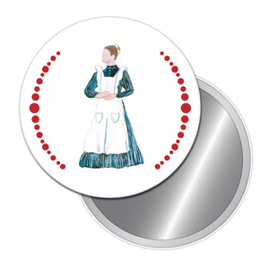 Maid Button/Magnet/Mirror