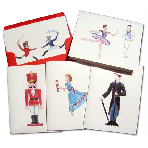Main Characters Assorted Note Card Set - Ballet Gift Shop