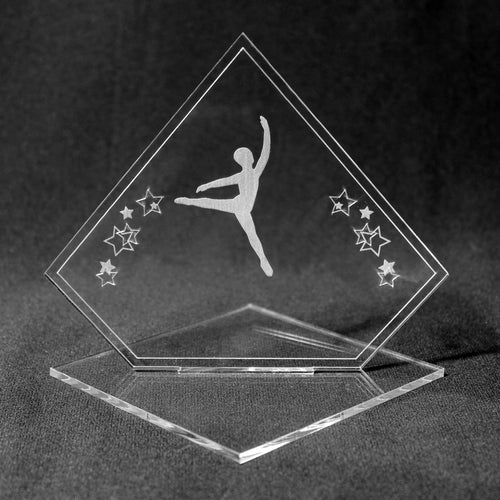 Male Dancer Acrylic Award