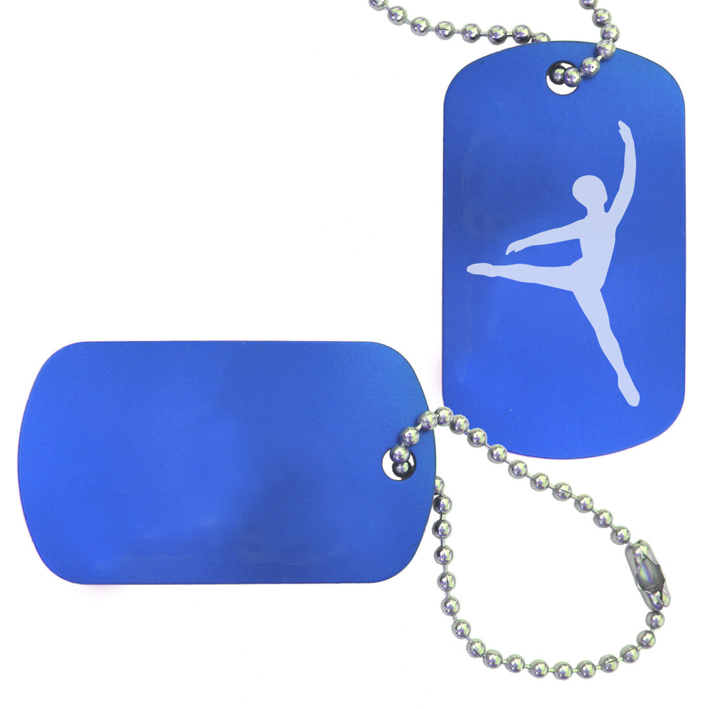 Male Dancer/Cavalier Dance Bag Tag - Ballet Gift Shop