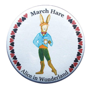 March Hare Button/Magnet/Mirror - Ballet Gift Shop