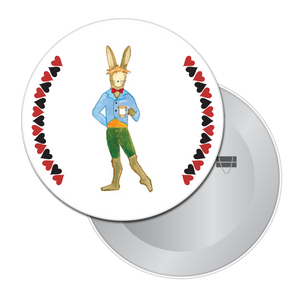 March Hare Button/Magnet/Mirror