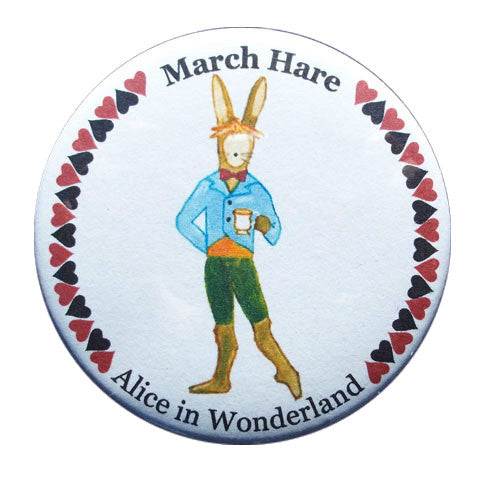 March Hare Button / Magnet - Ballet Gift Shop