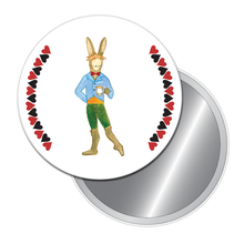 Load image into Gallery viewer, March Hare Button/Magnet/Mirror