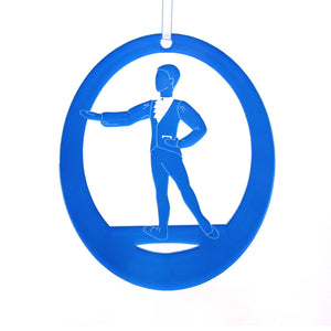 Marzipan Boy Laser-Etched Ornament - Ballet Gift Shop