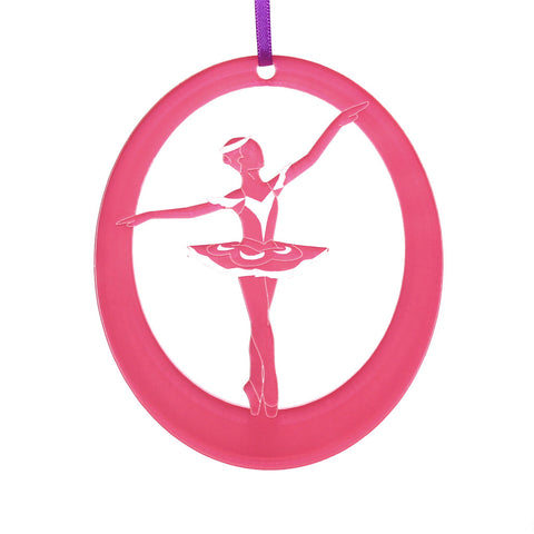 Marzipan Girl Laser-Etched Ornament - Ballet Gift Shop