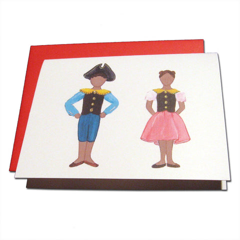 Mother Ginger Children (African-American) Note Cards - Ballet Gift Shop