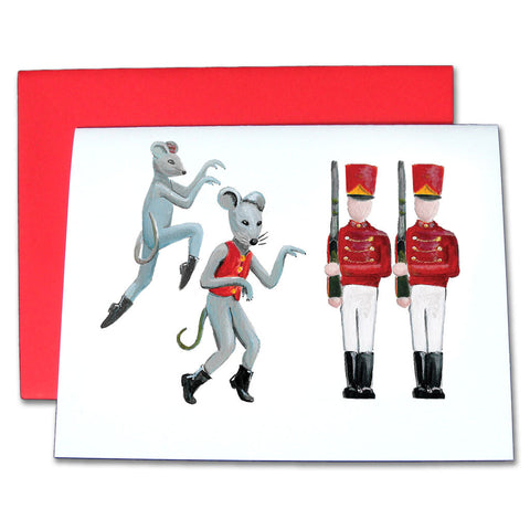 Mice & Soldiers Note Cards