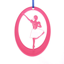 Load image into Gallery viewer, Mirliton Laser-Etched Ornament - Ballet Gift Shop