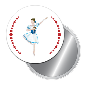 Mirliton Button/Magnet/Mirror