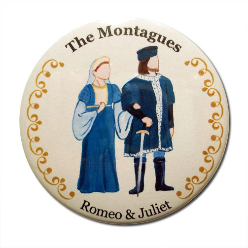 The Montagues Button / Magnet - Ballet Gift Shop