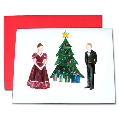 Mr. & Mrs. Silverhaus Note Cards - Ballet Gift Shop