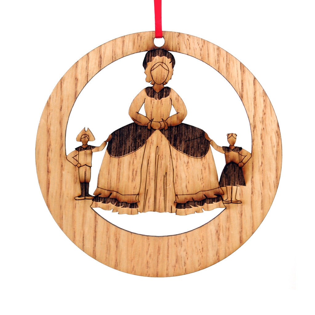 Mother Ginger Laser-Etched Ornament - Ballet Gift Shop