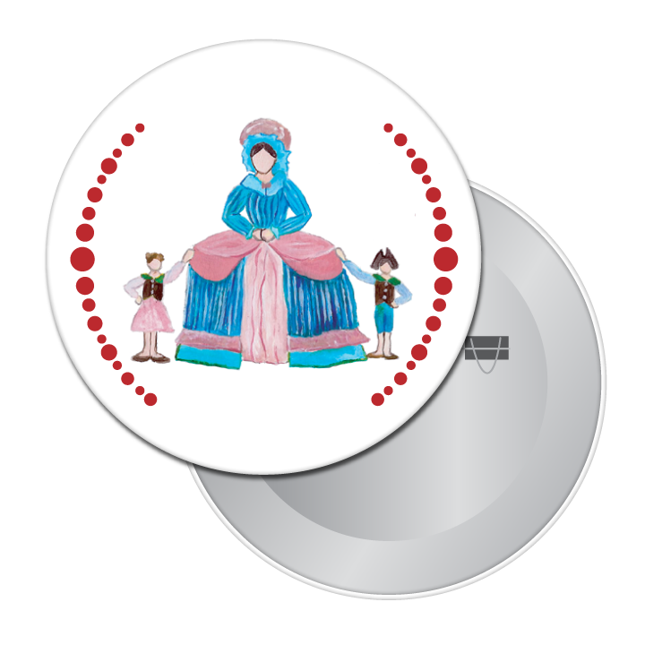 Mother Ginger Button / Magnet