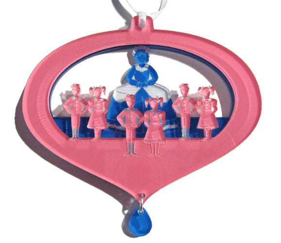 Mother Ginger & Her Children Layered Ornament - Ballet Gift Shop