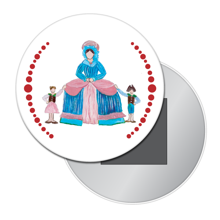 Mother Ginger Button/Magnet/Mirror
