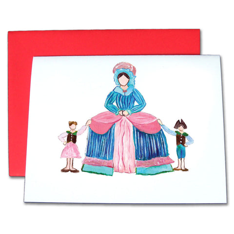 Mother Ginger Note Cards - Ballet Gift Shop
