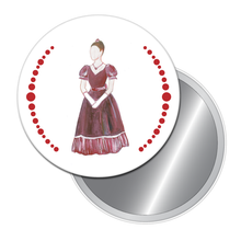 Load image into Gallery viewer, Mrs. Silverhaus Button/Magnet/Mirror