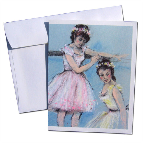 At the Barre Note Cards