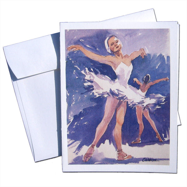 Swan Lake Note Cards - Ballet Gift Shop