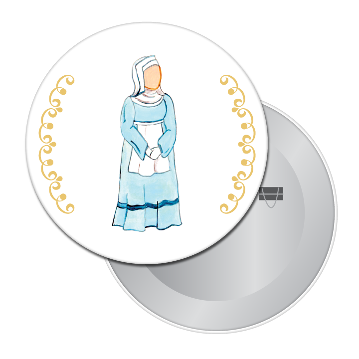 Juliet's Nurse Button/Magnet/Mirror