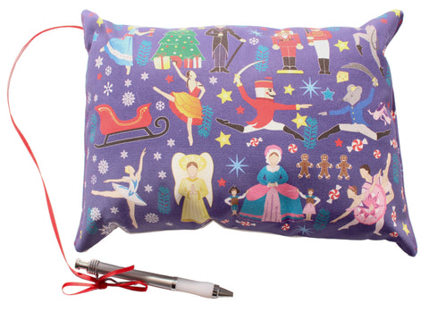 8x10 Nutcracker Ballet Autograph Pillow