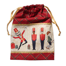 Load image into Gallery viewer, Nutcracker Illustrations Drawstring Tote - Cotton - Ballet Gift Shop
