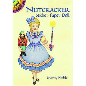 Nutcracker Sticker Paper Doll - Ballet Gift Shop