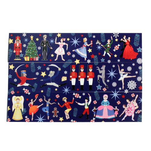 Nutcracker Ballet Bookmarks - Set of 3