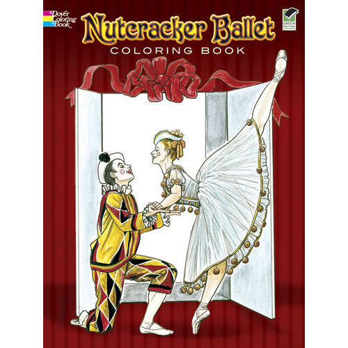 Nutcracker Ballet Coloring Book - Ballet Gift Shop