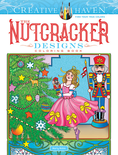 The Nutcracker Designs Coloring Book