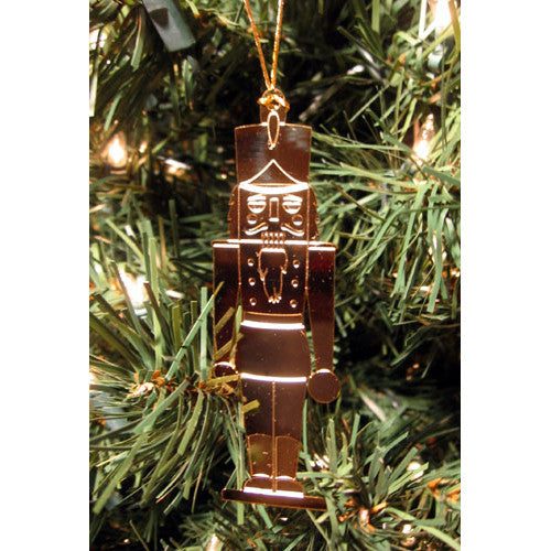 The Nutcracker Gold-Plated Ornament - Ballet Gift Shop