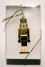 Load image into Gallery viewer, The Nutcracker Gold-Plated Ornament - Ballet Gift Shop