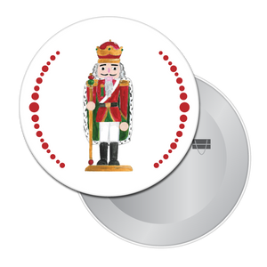 Nutcracker King Button / Magnet