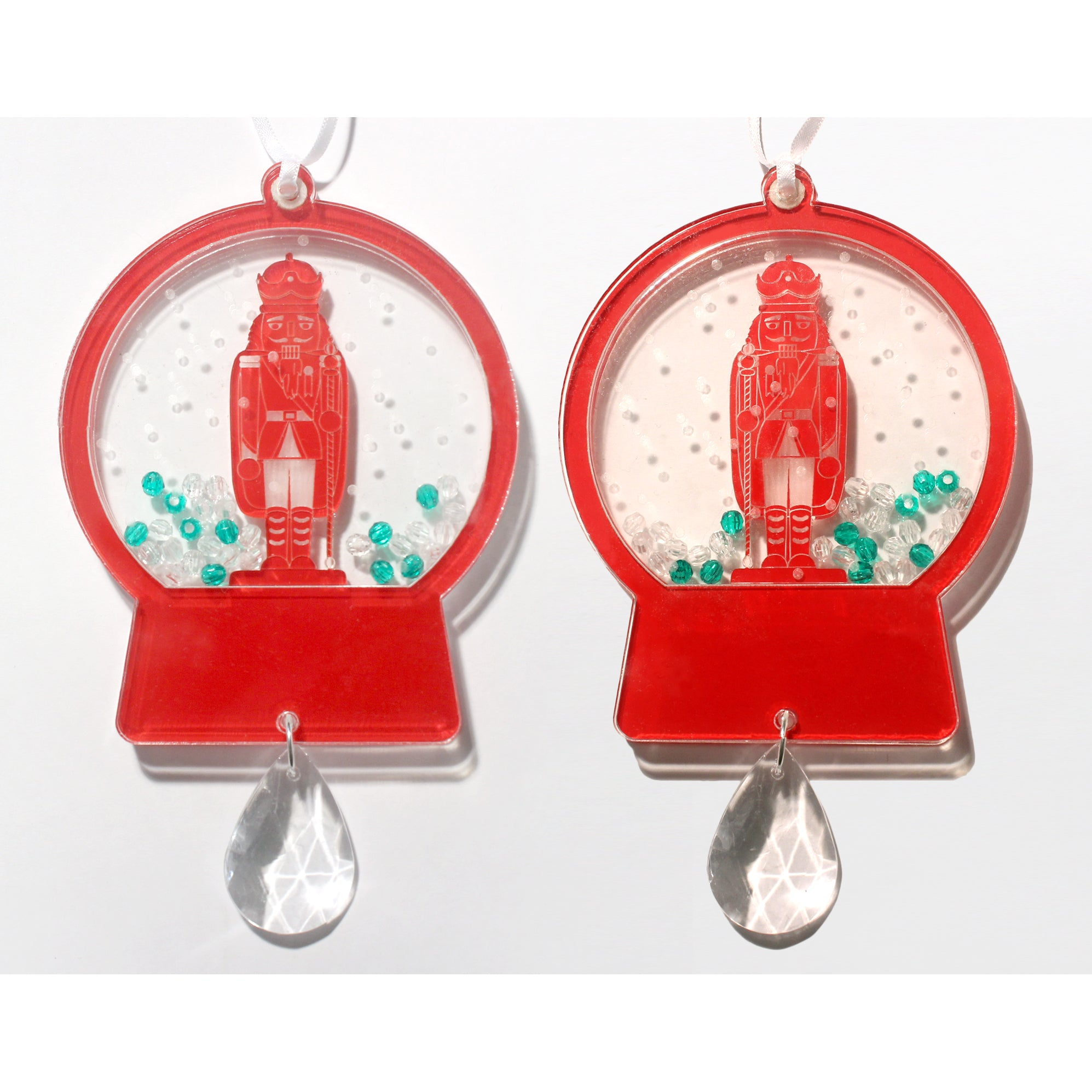 Nutcracker King Snow Globe Ornament