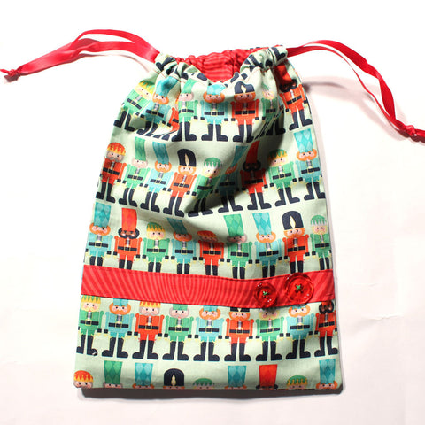 Nutcracker March Drawstring Tote - Ballet Gift Shop