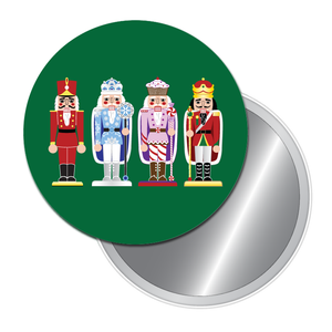 Nutcracker March Art Button/Magnet/Mirror