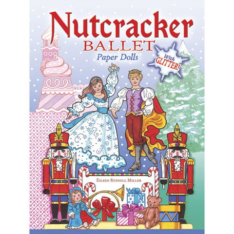 Nutcracker Ballet Paper Dolls with Glitter - Ballet Gift Shop