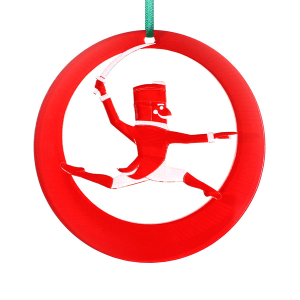 Nutcracker Prince Laser-Etched Ornament - Ballet Gift Shop