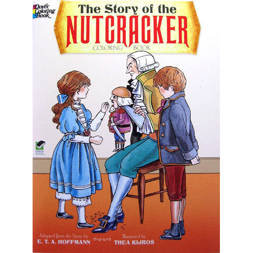 Story of the Nutcracker Coloring Book - Ballet Gift Shop