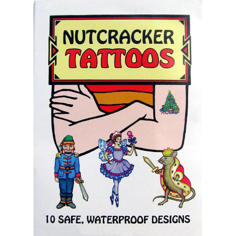 Nutcracker Ballet Tattoos - Ballet Gift Shop