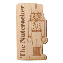 Load image into Gallery viewer, The Nutcracker Wooden Decal - Ballet Gift Shop