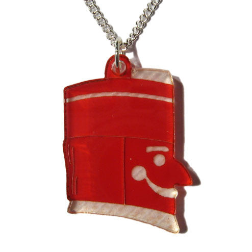 Nutcracker Head Pendant Necklace - Ballet Gift Shop