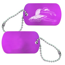 Load image into Gallery viewer, Swan Lake Dance Bag Tag (Choose from 4 designs) - Ballet Gift Shop
