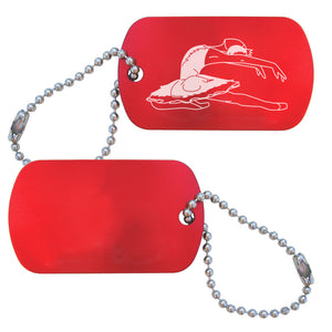 Swan Lake Dance Bag Tag (Choose from 4 designs) - Ballet Gift Shop