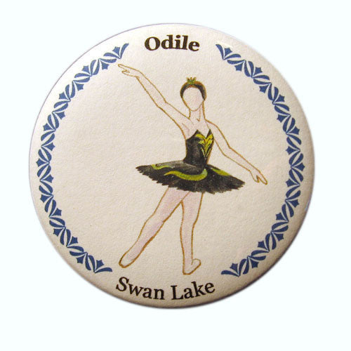 Odile Button/Magnet/Mirror - Ballet Gift Shop