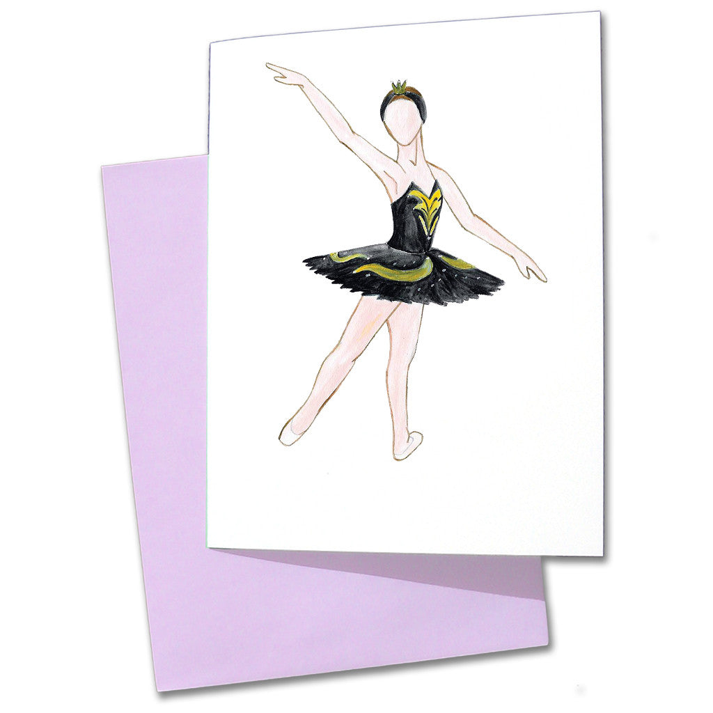 Odile Note Cards - Ballet Gift Shop